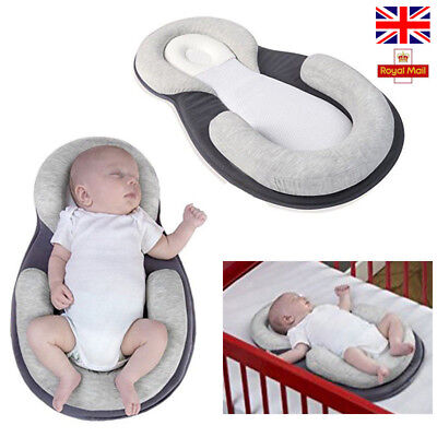 Baby Stereotypes Pillow Infant Newborn Anti-rollover Mattress Pillow Pad Cotton