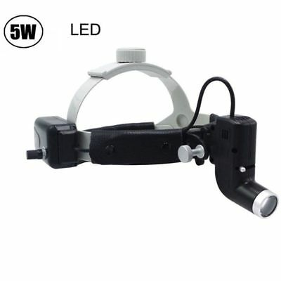 5W Dental Medical Headband LED Light Lamp Surgical Headlight Good Light Spot ENT