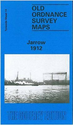 Jarrow 1912: Tyneside Sheet 14 (Old Ord... by Maslevic, Andrew Sheet map, folded