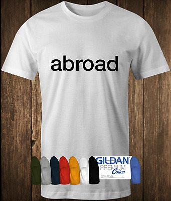 Quality Cotton Abroad T-shirt As worn by Serge of Kasabian Classic rock tee band