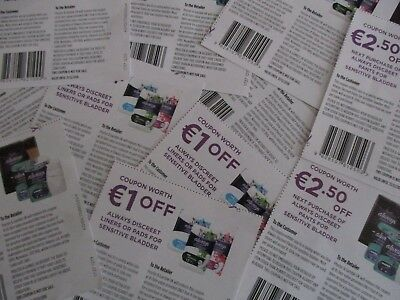 €59.50 Euros worth of assorted money Off coupons,