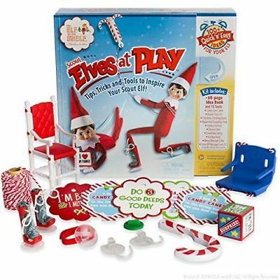 Elf On The Shelf - The Scout Elves At Play Kit. 15 tools and over 100 ideas!