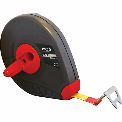 Fisco Futura Fibreglass Tape Measure Imperial & Metric 10m 13mm