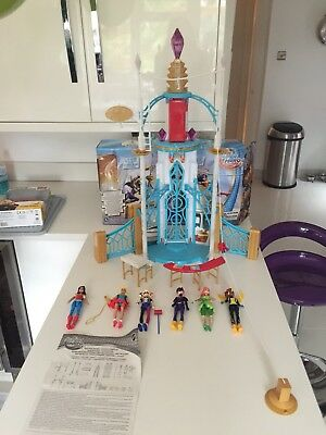 Dc Superhero Girls Super Hero High School Play Set 500 Picclick Uk