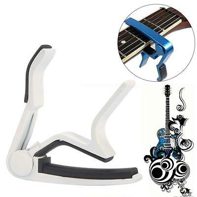 White Key Change Guitar Hand Held Capos For Electric / Acoustic Guitar 2017 TR
