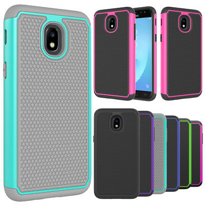 For Samsung Galaxy J3 Star Case, Hybrid Shockproof Rugged Armor Protective Cover