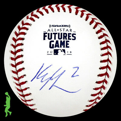 Kyle Lewis Autographed Signed 2018 Futures Game Baseball Ball Mariners Jsa Coa