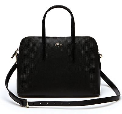 d44d886508 LACOSTE SAC À Main Chantaco S Bugatti Bag Black - EUR 299,00 ...