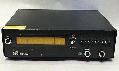 HEIDENHAIN VRZ-210  Digital Display No. 22168403 Made In Germany!