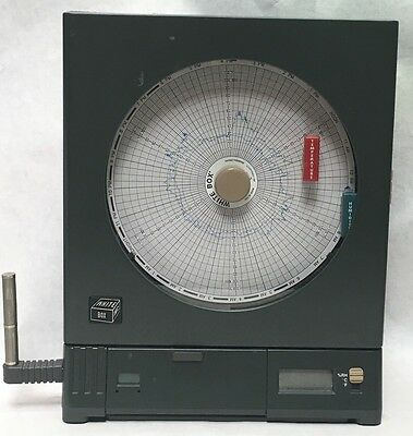 White Box Chart Recorder CT485-RS Humidity Paper Graph