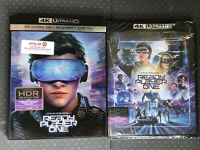 Ready Player One 4K UHD/Blu-Ray/Digital HD Target Lenticular + Bonus Content New