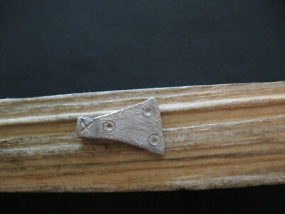 Silver Battle Axe Votive Amulet Ancient Celtic Warriors Talisman 300-100 B.c.