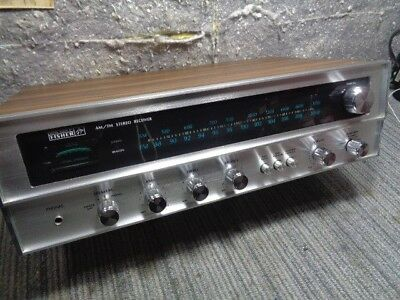 Estate* Classic Fisher Solid State Receiver > Works Excellent