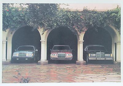 Lincoln Mercury 1984 Town Car Continental Mark VII Sales Brochure / Literature