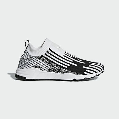 check out ce62d 775dd Adidas Originals Eqt Support Sk Sock Pk Primeknit White Black New Shoes  B37524