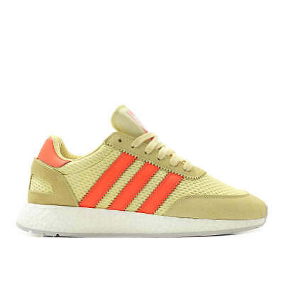 the latest 645cd 206e7 Adidas Originals I-5923 Iniki Boost Yellow Red Men Lifestyle Sneakers Gym  D96604