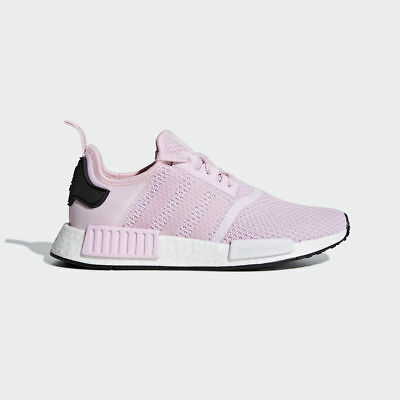 Adidas Originals Nmd R1 Women Boost Pink White New Shoes Gym Sneakers B37648 90ad5ed21