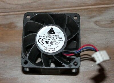 DELTA ELECTRONICS DC Brushless Fan Model FFB0612EHE DC12V 1 20A -S90S