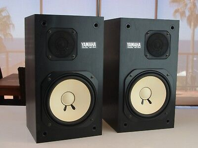 Yamaha NS10M Studio Monitor Speakers - PAIR - With speaker grilles