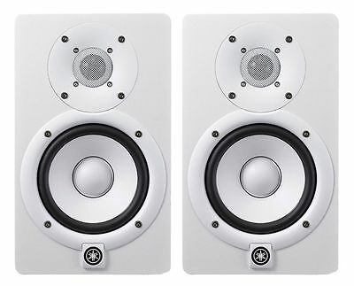 Yamaha HS8W Powered Studio Monitor White (Pair) **BRAND NEW**