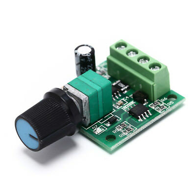1Pc x DC 1.8V 3V 5V 6V 12V 2A Low Voltage Motor Speed Controller PWM TWUS