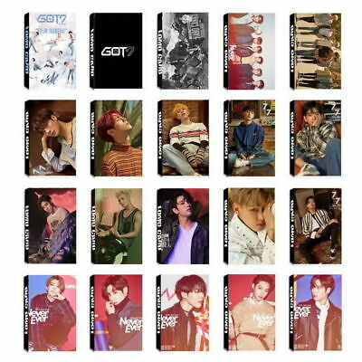 Lot of 30pcs/set Cute KPOP GOT7 Personal Collective Photocard Poster Lomo Cards