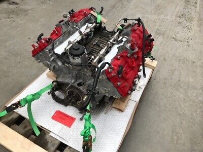 13 Ferrari 458 F136 Complete 4.5 V8 Engine Motor Only 10K 10 11 12 14 15 No Core