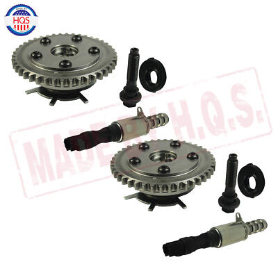 Pair Valve Seal Cam Phaser VVTi Actuator Bolts For Ford 4.6L 281 5.4L 330 3V VCT