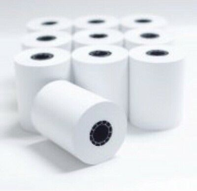 "NEW 10 Rolls Thermal Receipt Paper Credit Card Machine Register POS 2 1/4"" x 50'"