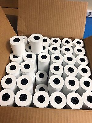 "NEW - 72 Qty Rolls 2 1/4"" x 85' THERMAL PAPER NEW!! Clover Mini - FREE SHIPPING"