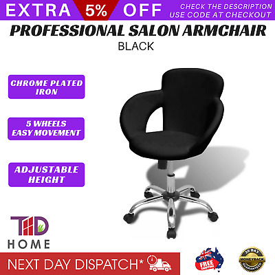 Hairdressing Hydraulic Adjustable Barber Spa Beauty Styling Salon Chair Stool