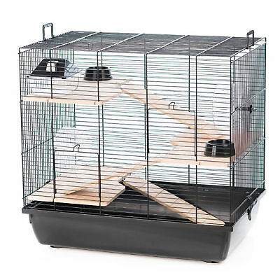 Pet Ting Robinson Luxury Hamster Cage Wooden Accessories Wheel Ladder Syrian Etc