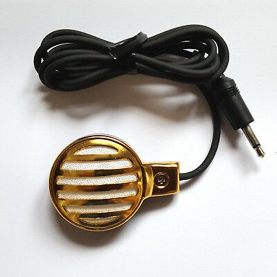 PALM MIC Hi-Z Crystal Blues HARP Harmonica MICROPHONE *Wah Wah Chicago tone*