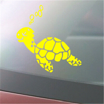 Turbo Turtle PRINTED VINYL CAR DECAL STICKER JDM LAPTOP IPAD 8C