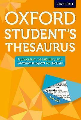 Oxford Student's Thesaurus (Oxford Thesaurus) by Oxford Dictionaries | Paperback