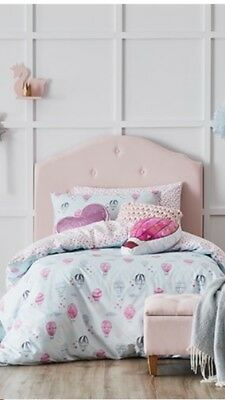 Adairs Kids Up Up and Away Cot Quilt Cover Set RRP $99.99