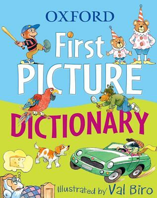 Oxford First Picture Dictionary New Paperback Book Oxford Dictionaries, Val Biro