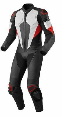 Motorcycle Leather Racing Suit Ce Approved Protection All Sizes
