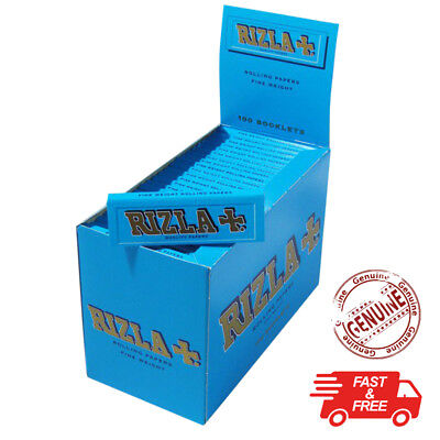 RIZLA RED SILVER GREEN BLUE NATURA PINK Regular Original Rolling Paper Cigarette