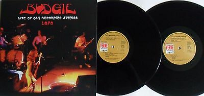 LP BUDGIE Live At A&M Recording Studios 1978 (2LP) VERNE 29  MINT/MINT