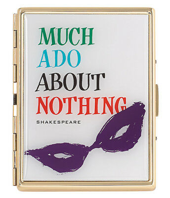 Kate Spade A Way With Words Much Ado About Nothing ID Holder New In Box