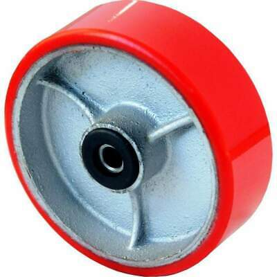 Grip 52163 200mm 500kg Poly Moulded Cast Iron Wheel