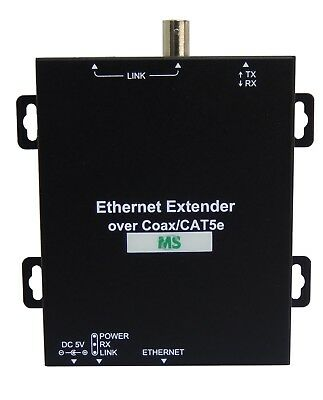 CCTV Active IP Extender up to 2KM w/Coaxial Cable OR up to 1.2KM w/CAT5E UTP