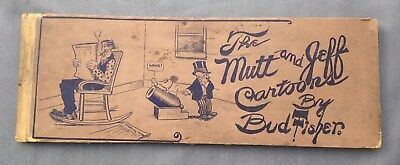 Mutt and Jeff Cartoons Bud Fisher 1910 Ball Publishing Illustrated Book