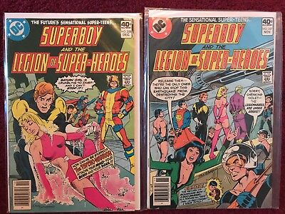 Superboy and the Legion of Super-Heroes! Issue 253, 255, 256, 257, 258 *Lot of 5