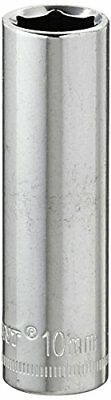 "Crescent CDDS17N 1/4"" Drive, 10mm Deep Socket - 6 Point"