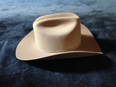 "15b357ef2809af STETSON SF0575D440 D4 Ranch Tan 7-1/2"" Cowboy Hat New In Box ..."