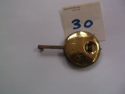 A PENDULUM FROM AN OLD  MANTEL CLOCK  56g REF 30