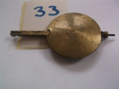 A PENDULUM FROM AN OLD  MANTEL CLOCK  140 g REF 33