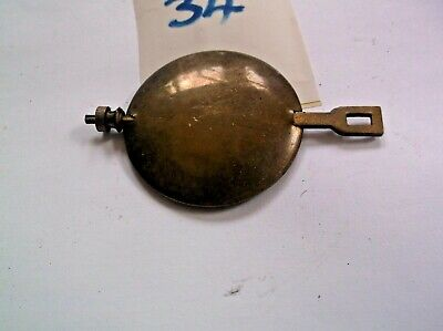 A PENDULUM FROM AN OLD  MANTEL CLOCK  102 g REF 34